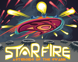 Starfire: Asteroid of the Swarm (SHMUP 2D Browser+mobile)
