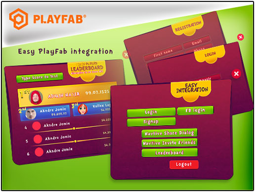 PlayFab Leaderboard & Facebook Login