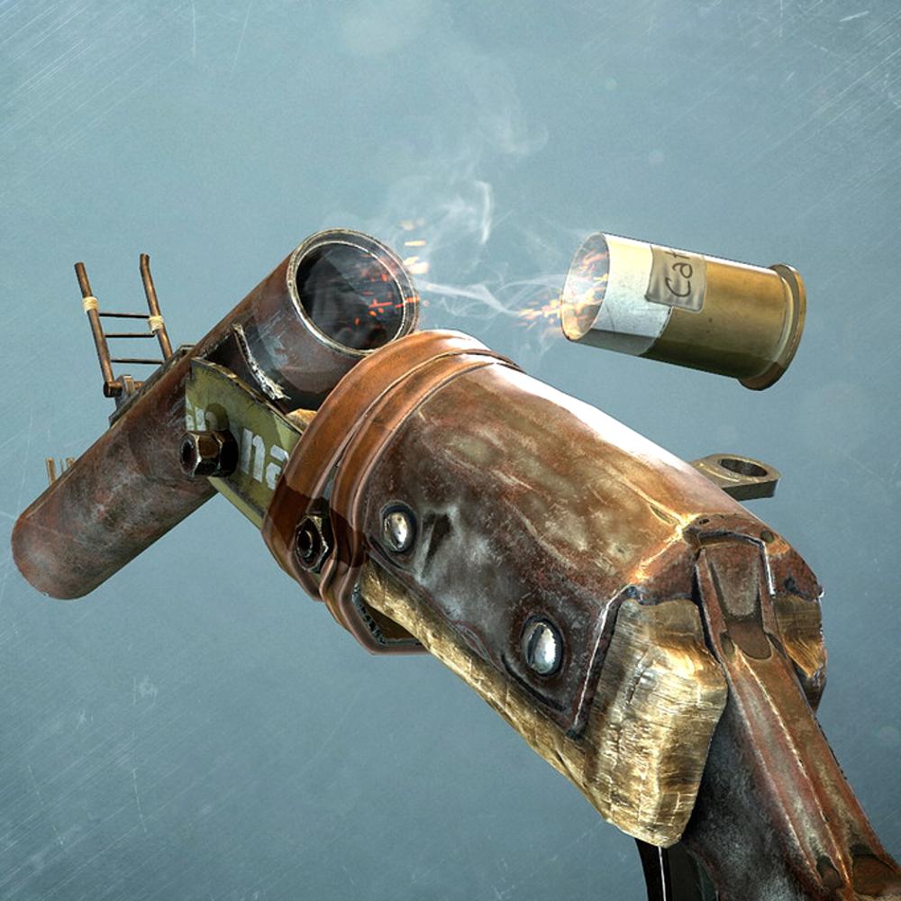 Salvaged Grenade Launcher