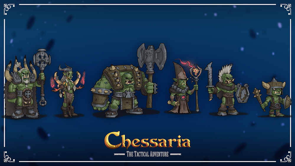 Chessaria (Early Concept Art)