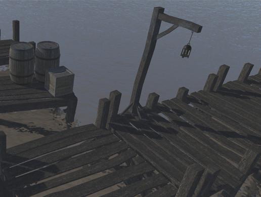 Wooden Dock Modular Builder Kit