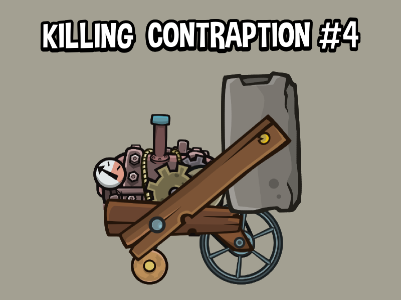 Killing contraption for asset library