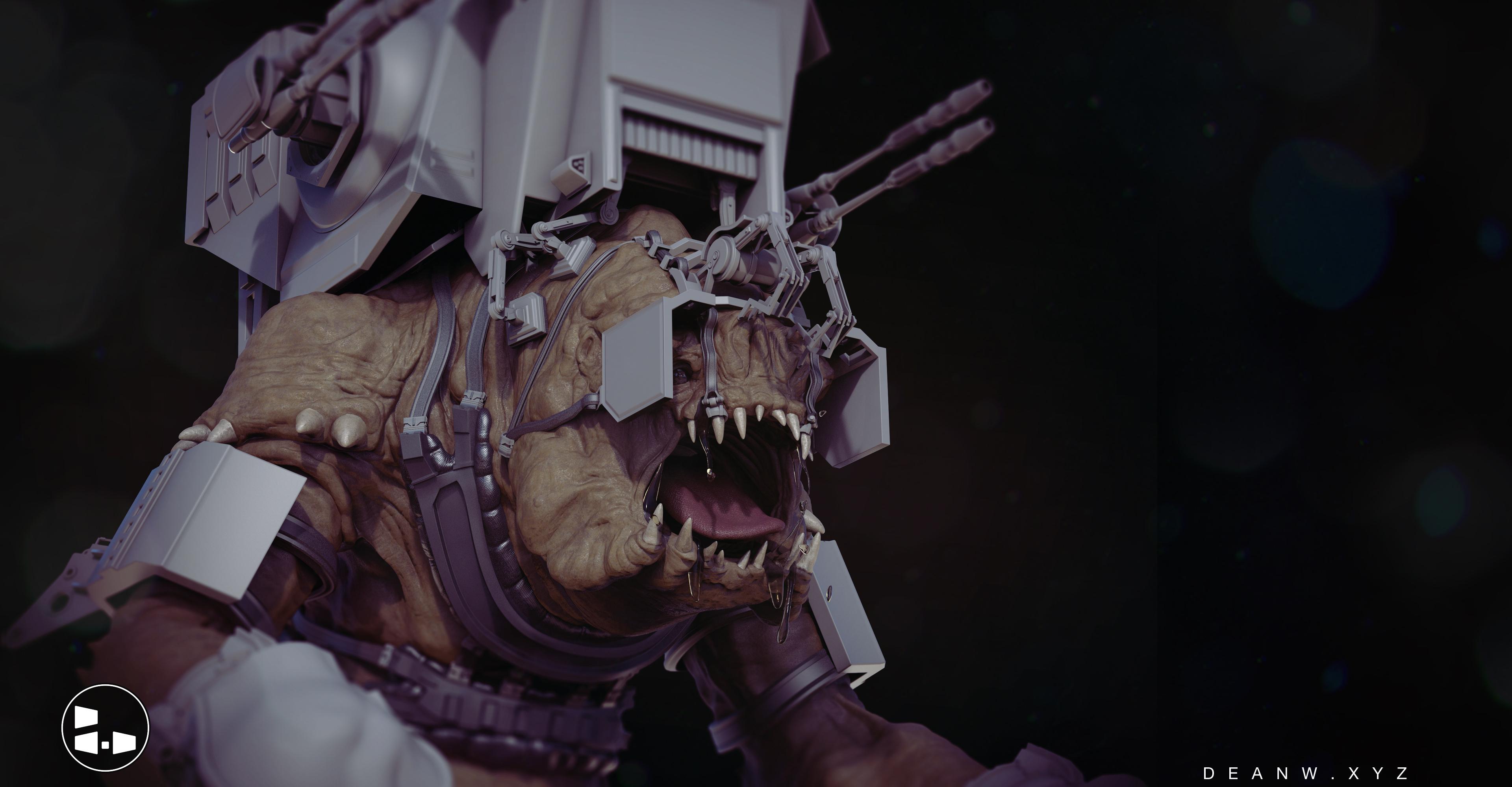 Battle Rancor Concept