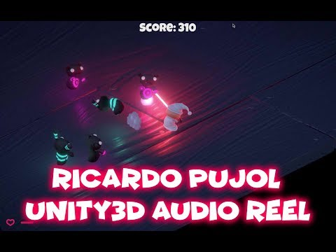 Unity3d Audio Reel