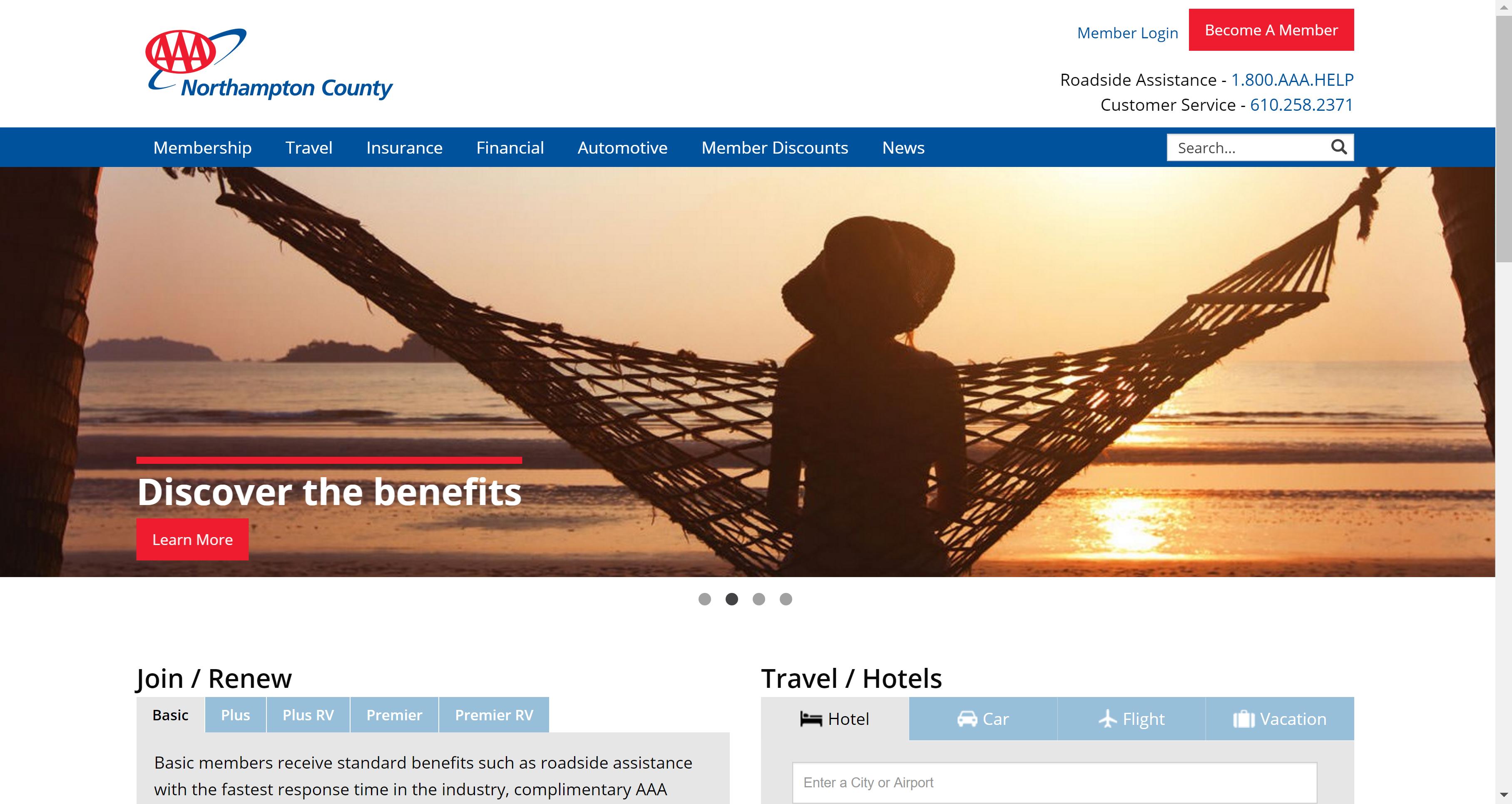 AAA Northampton County Website