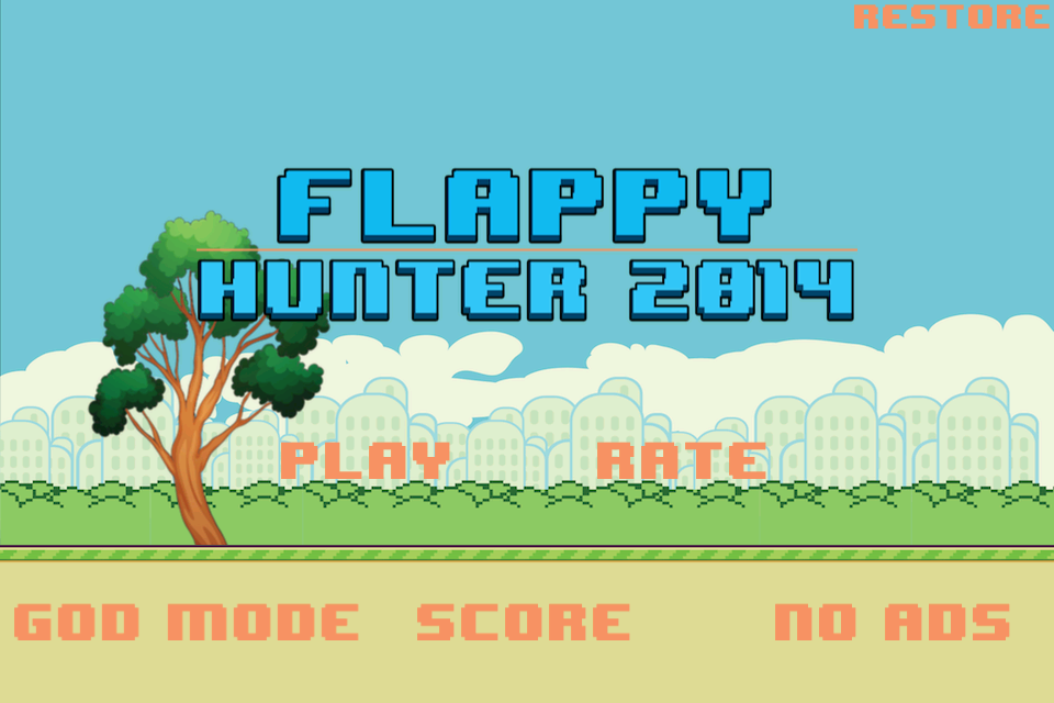 Flappy Hunter 2014