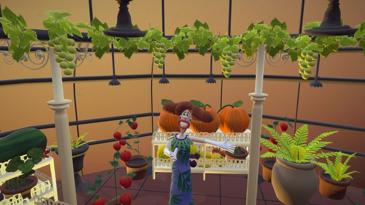 Wallace and Gromit: Greenhouse Environment