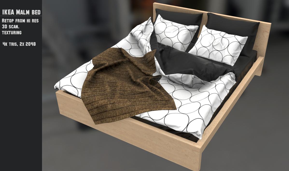 IKEA Malm Bed retop