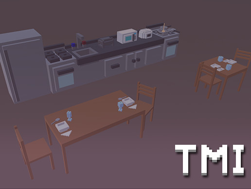 Too Many Items: Kitchen Props