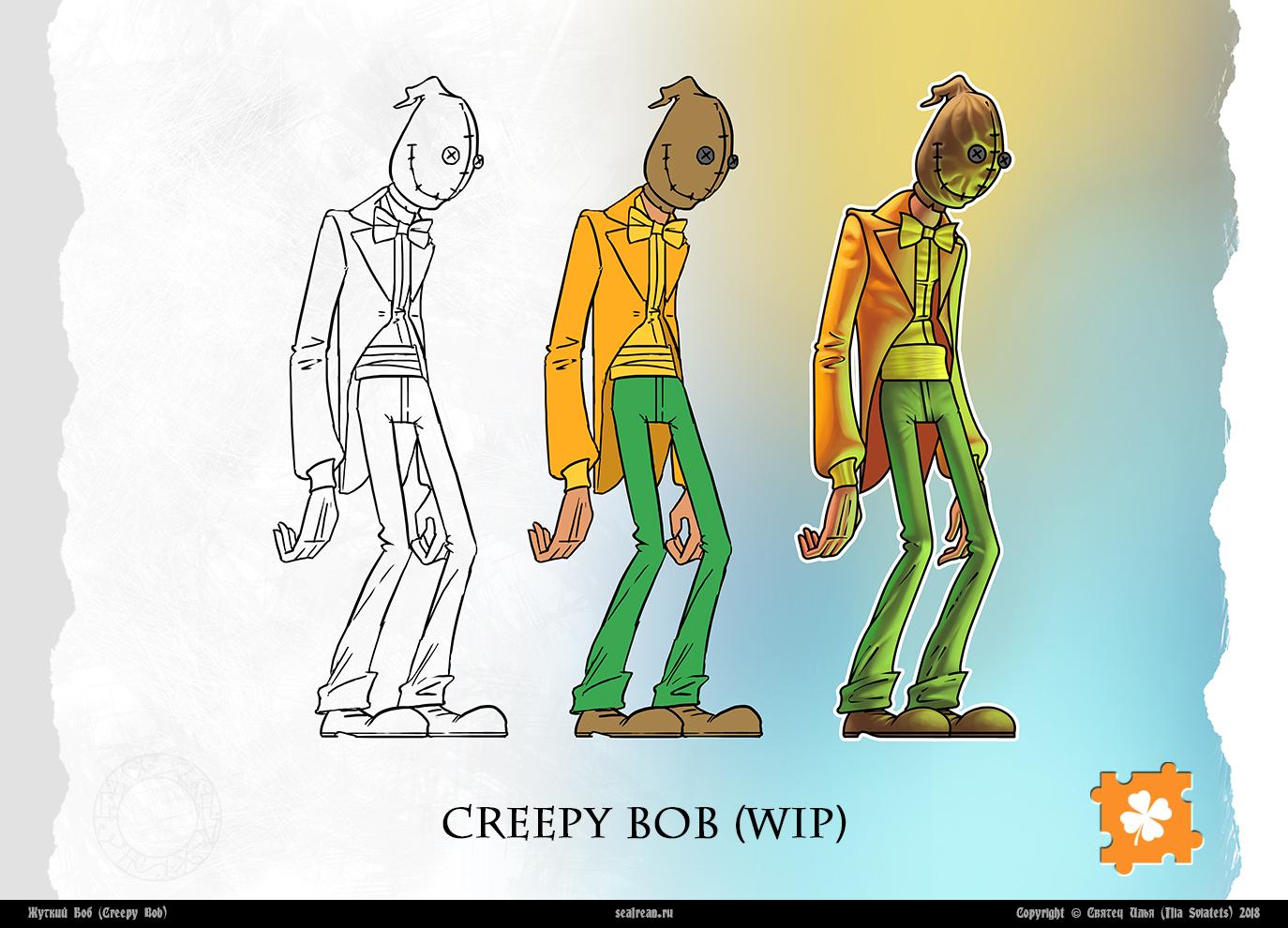 Creepy Bob (WIP)