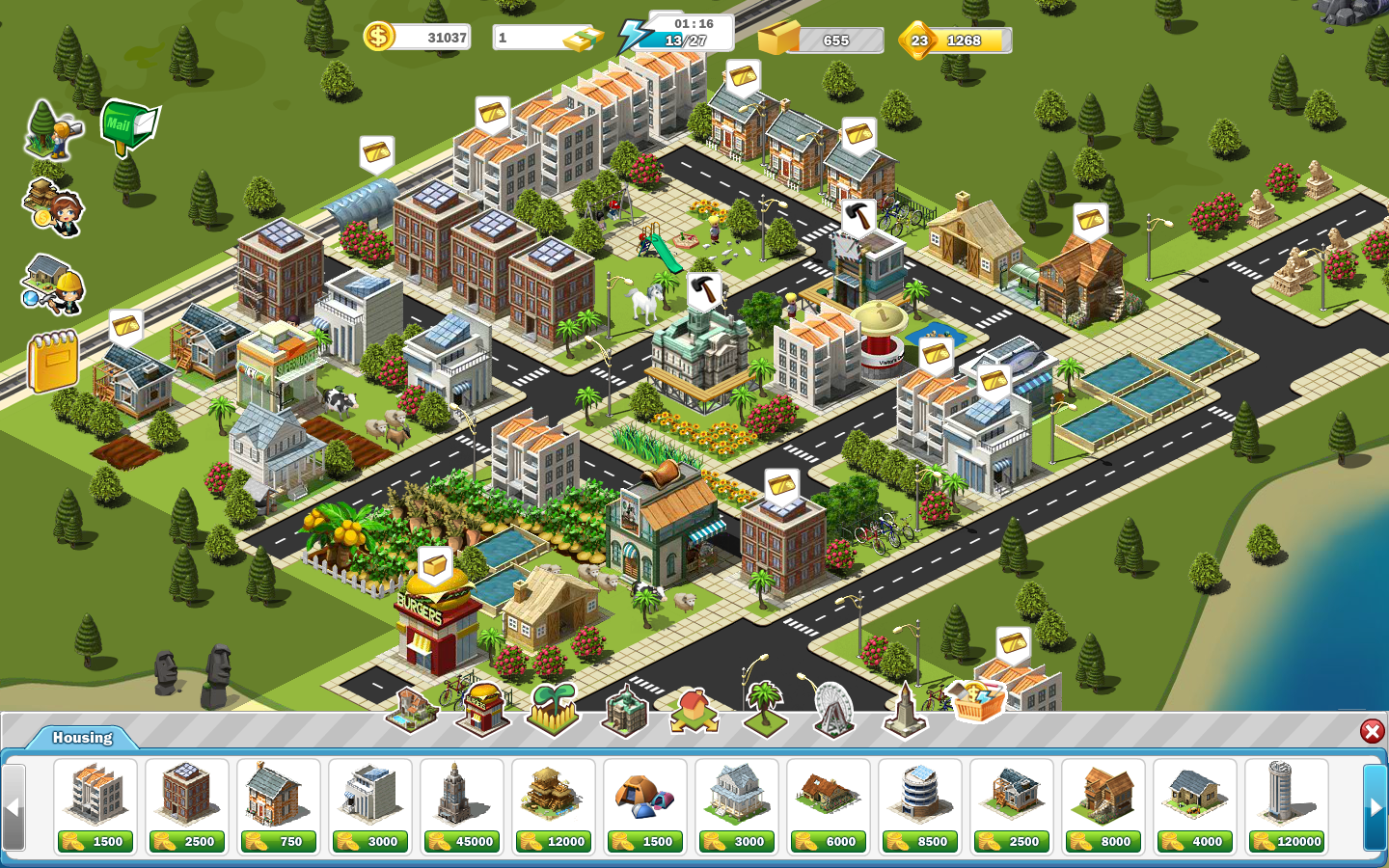 Urbville City Building Game