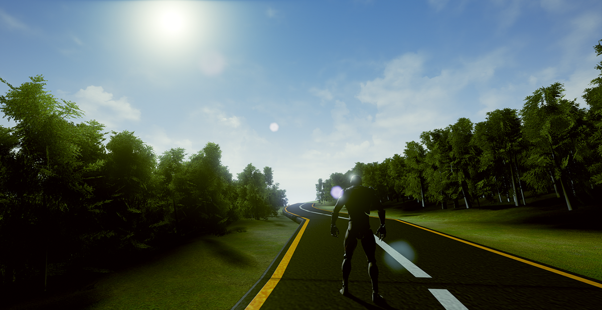 Open World Game In Unreal Engine 4