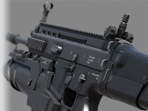 Assault Rifle - SpecOps Forces Combat Assault Rifle