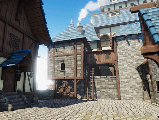 Modular Fantasy Town