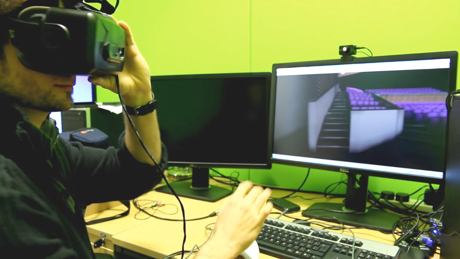 Virtual Reality at the University of Hertfordshire