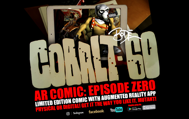 Cobalt 60 AR Comic Book