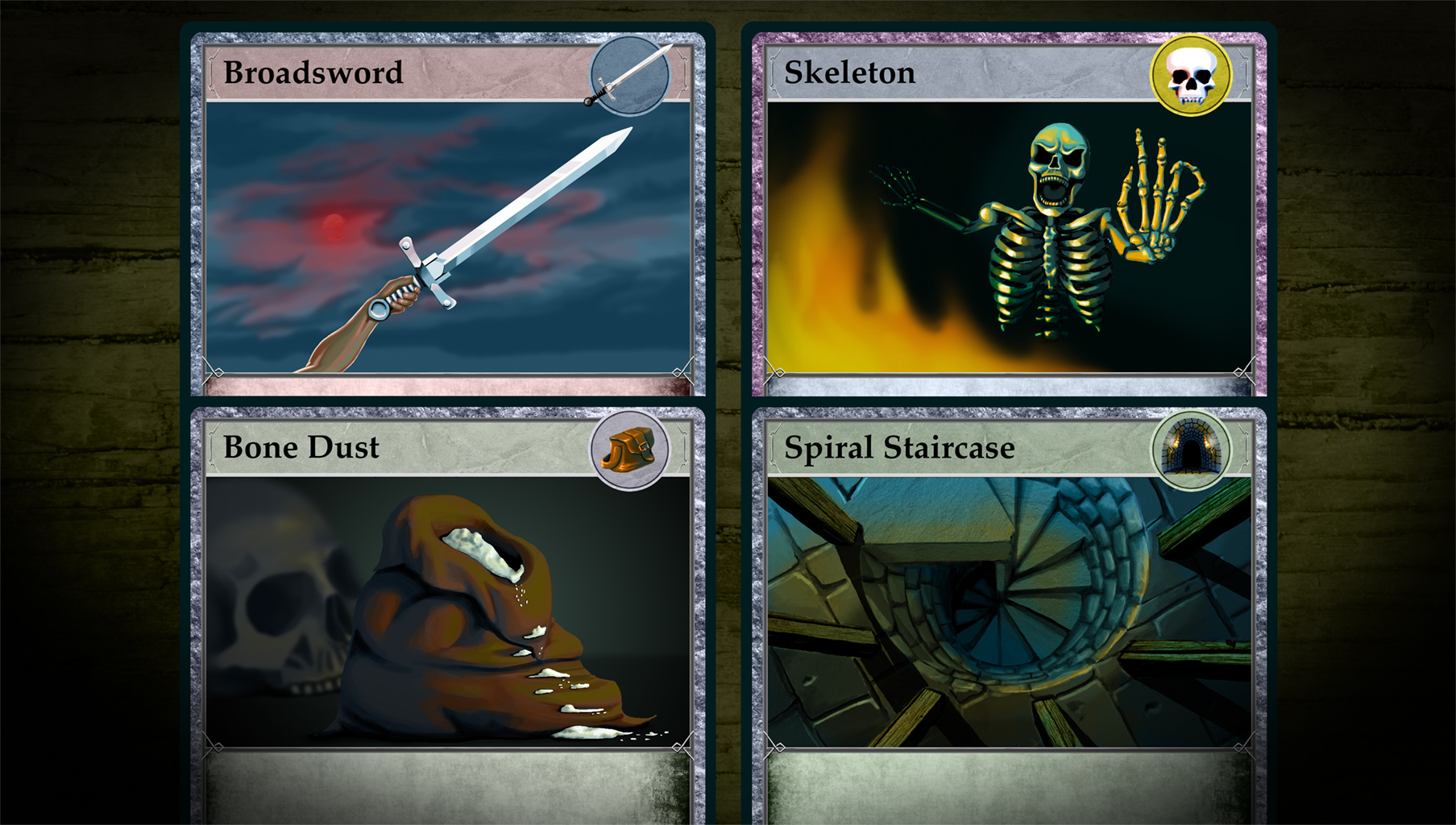 Quest Card Story