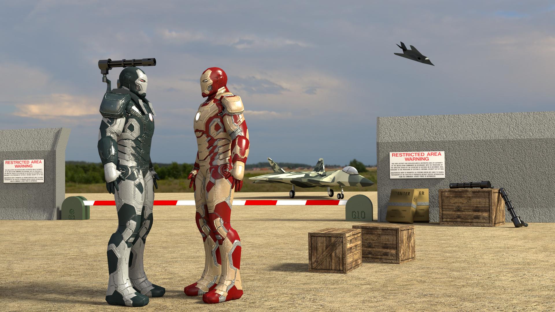 Iron Man Kinect