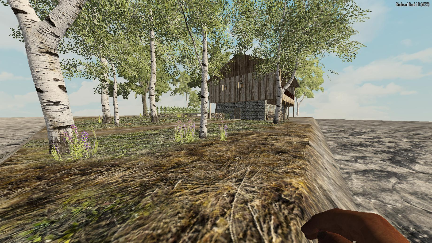 7 Days to Die 'Medieval Mod' custom buildings.