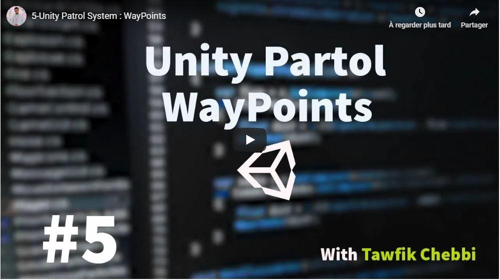 5-Unity Patrol System : WayPoints
