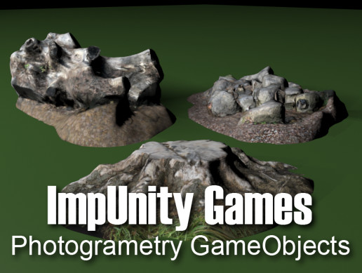 Photogrammetry GameObjects