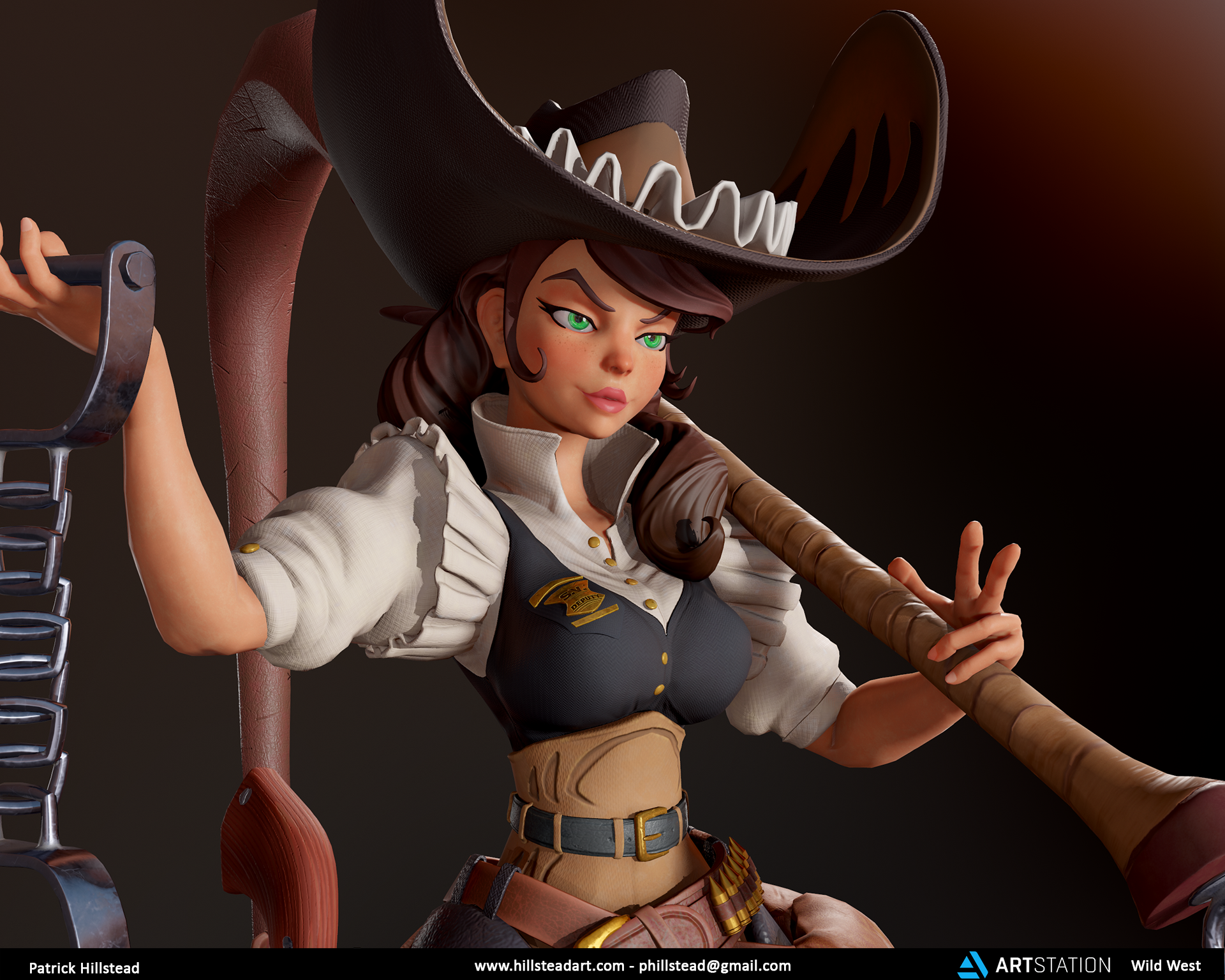 Wild West Challenge - Helen the Deputy