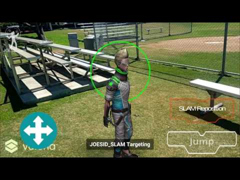 JOESID.com: Unity - SLAM Augmented Reality Remote Control Man Using Vuforia