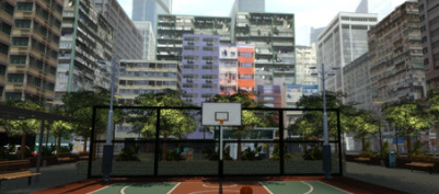 One-Person Basketball Court