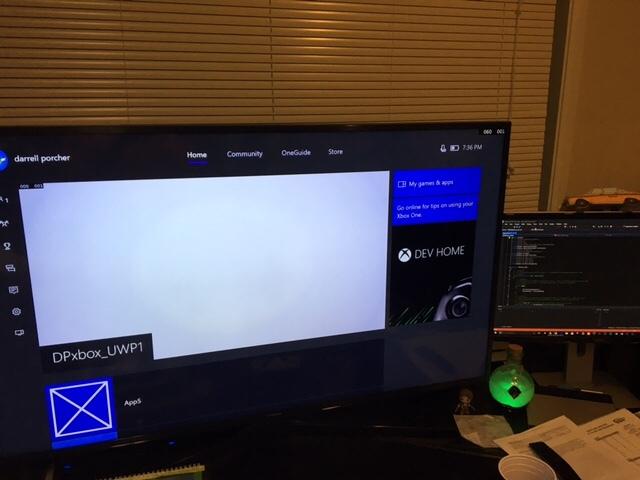Unity on Xbox One -S DevMode