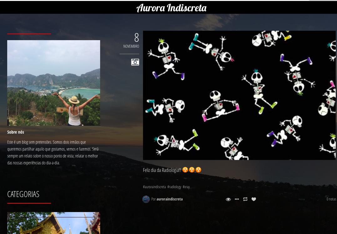 Blog: Aurora Indiscreta