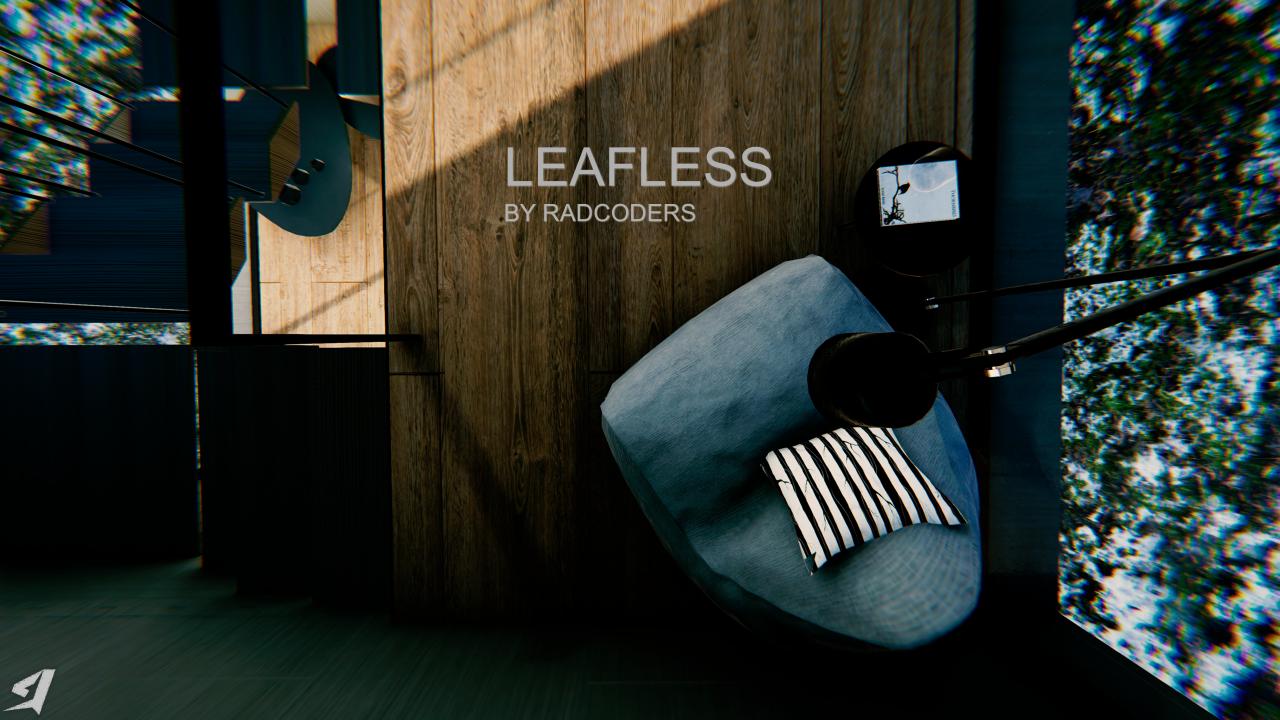 Modern Archviz: Leafless Asset