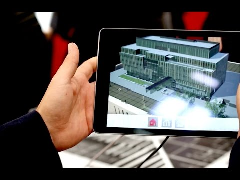 Augmented reality showcase - Mixed Reality at Expo Real Munich