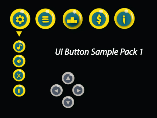 UI button pack 1