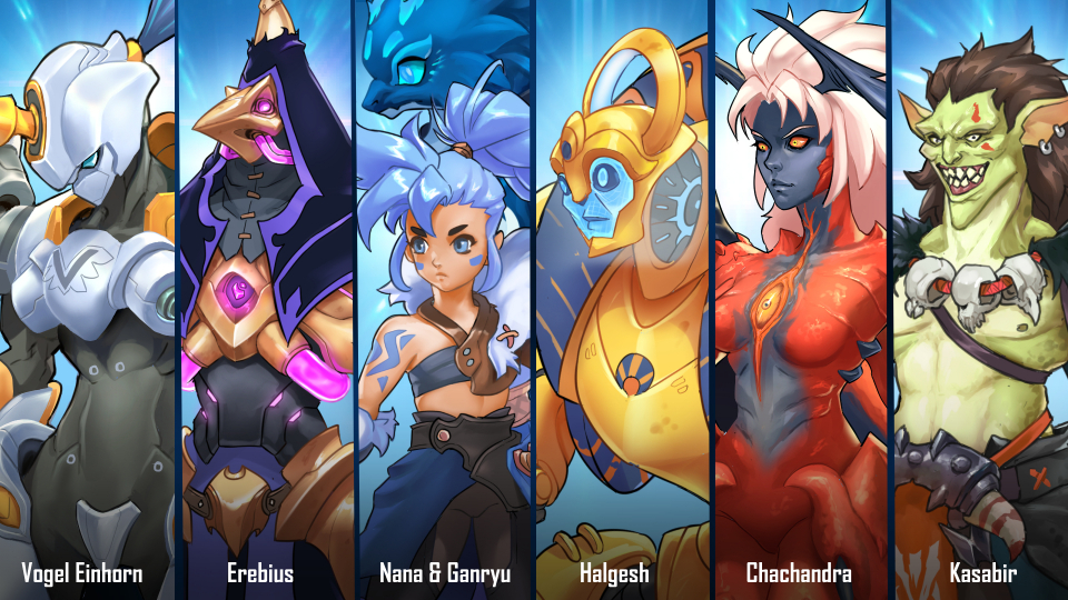 Prominence MOBA Characters