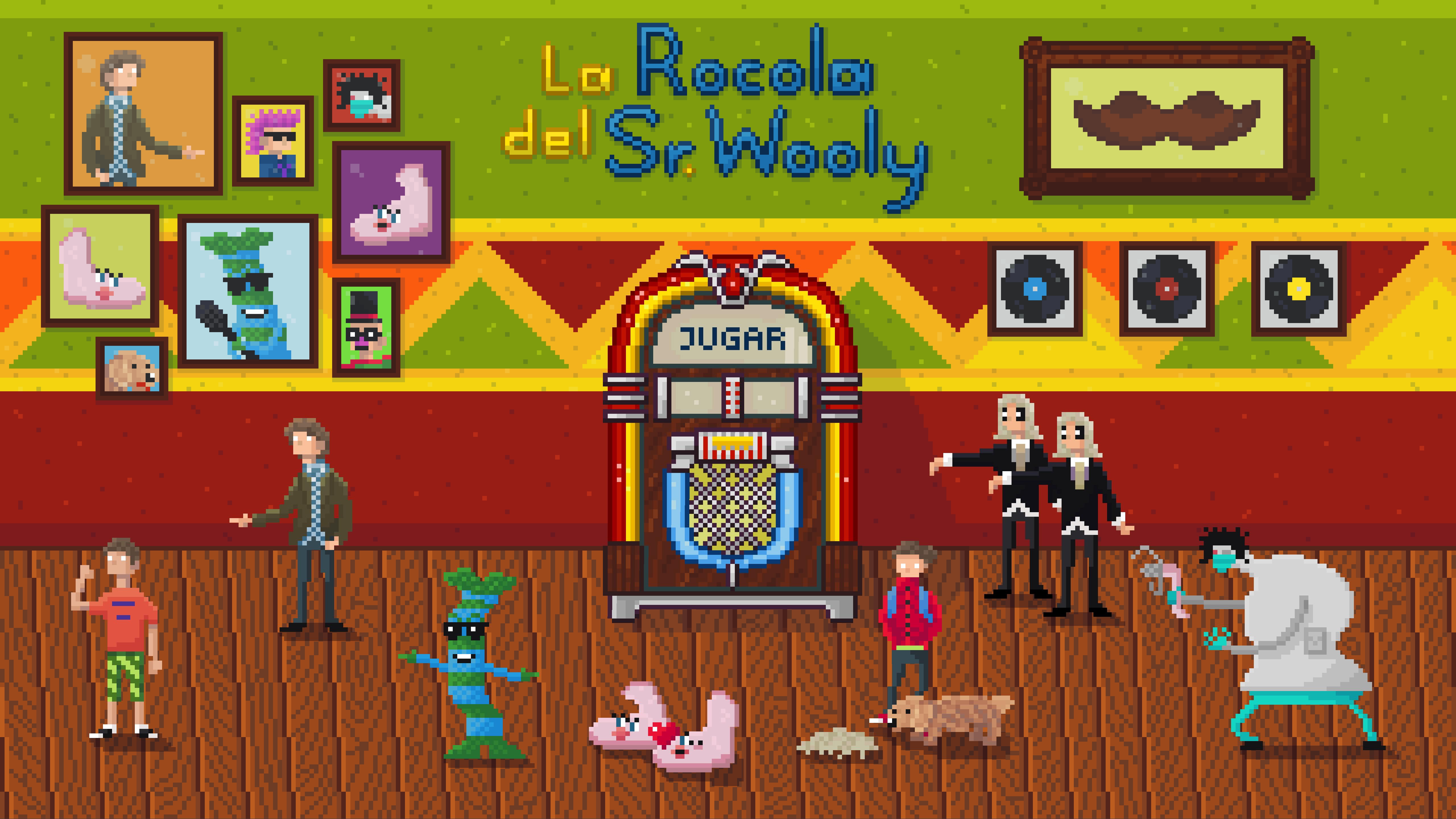 La Rocola del Sr. Wooly
