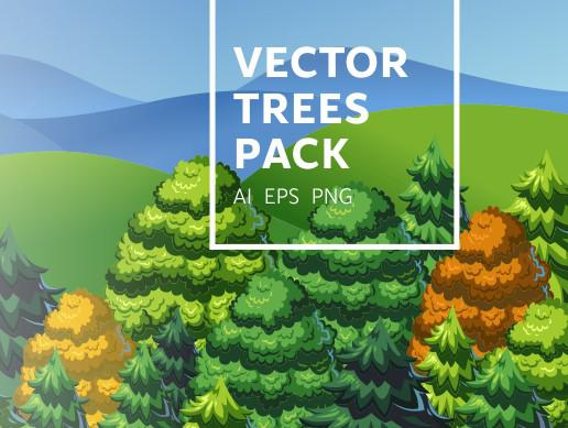 2D Isometric Trees