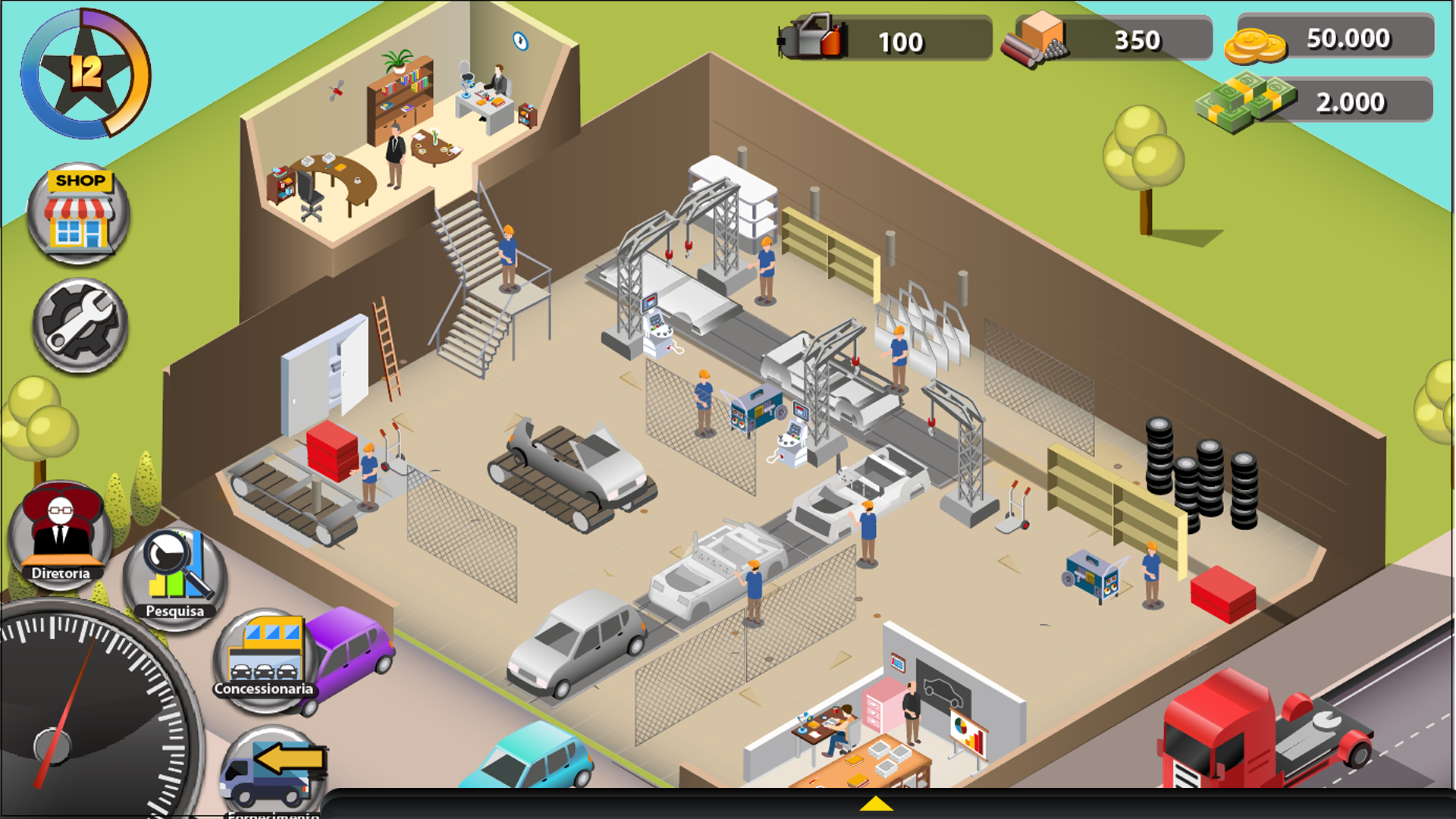 Factory Game Design (Prototype)