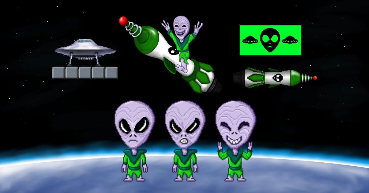 Santa vs Aliens assets