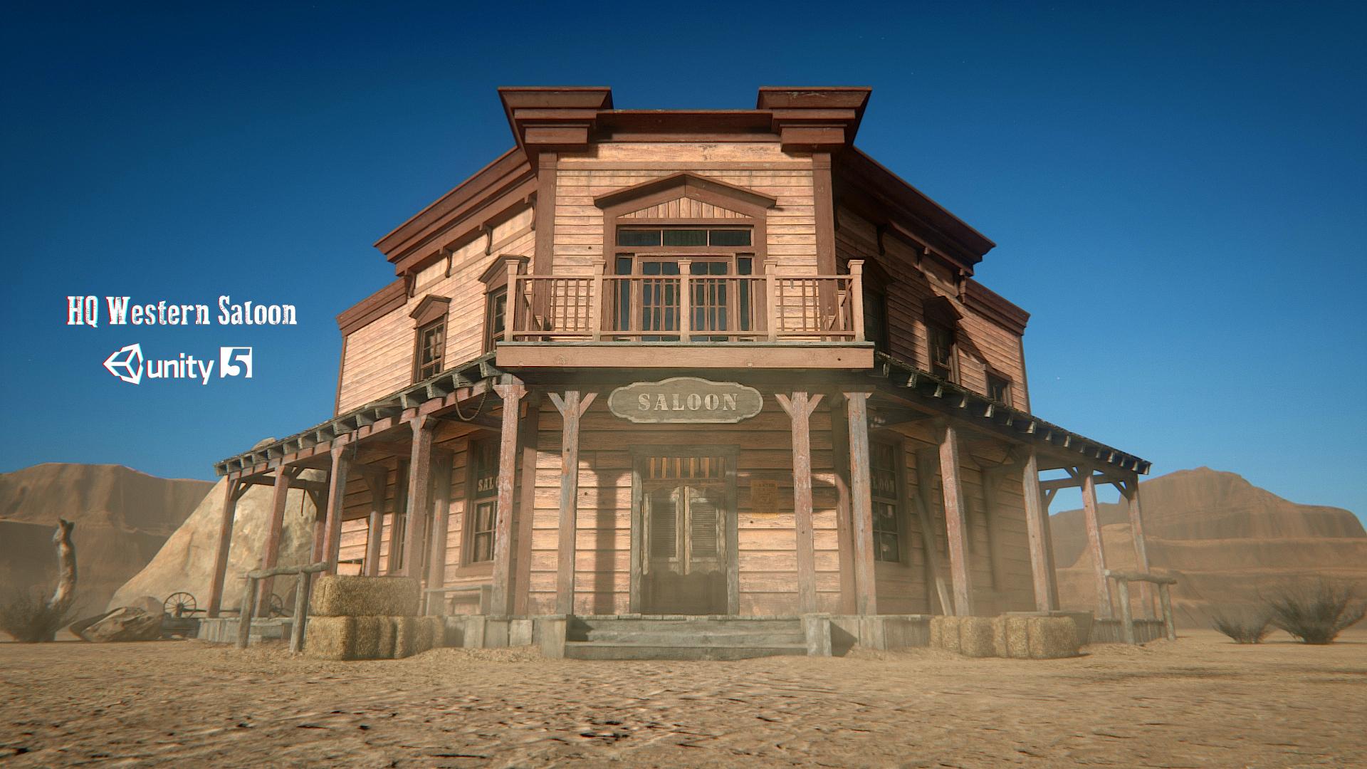 HQ Western Saloon
