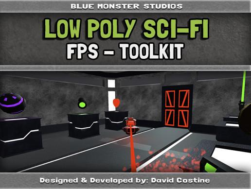 Low Poly Sci-Fi FPS Toolkit