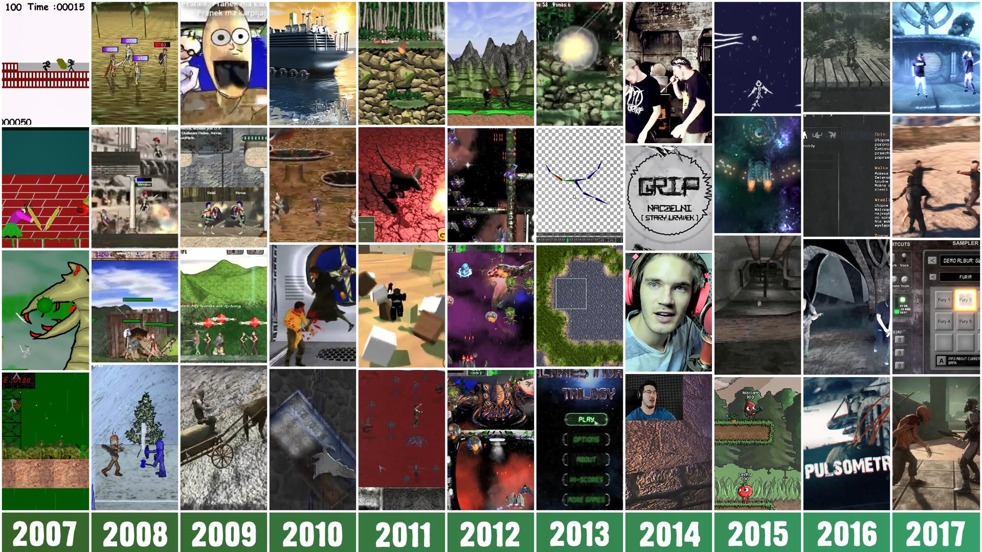 Gamedev journey since 2007