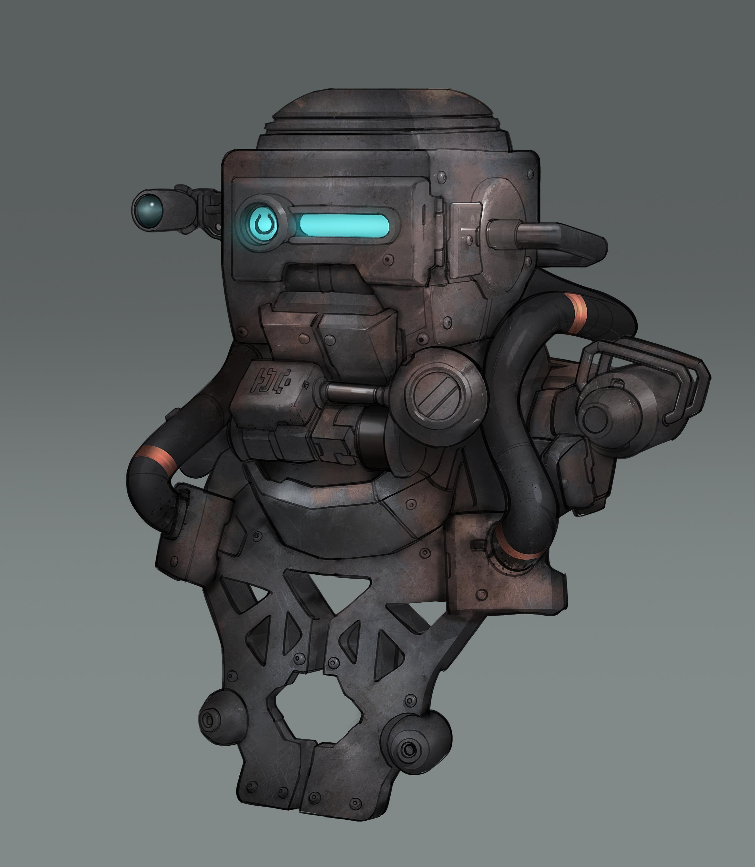 Mech Concept Design