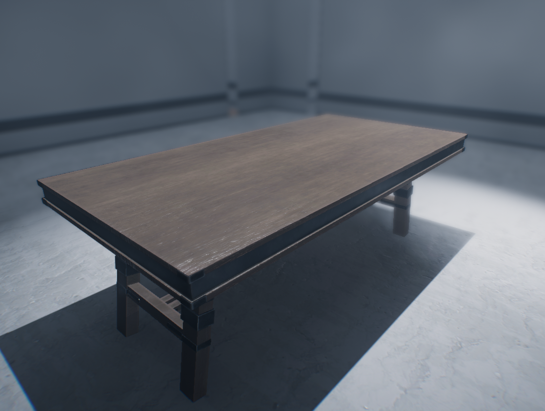 Wooden Table [PBR] (Free Asset)