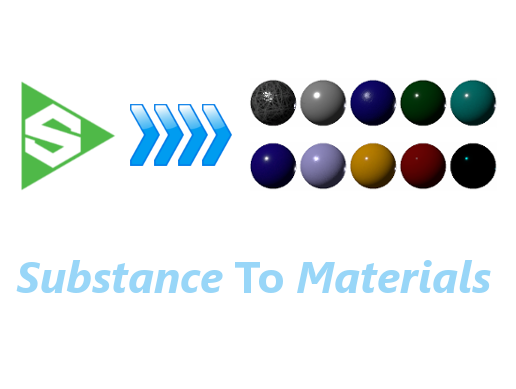 Substance to Materials converter