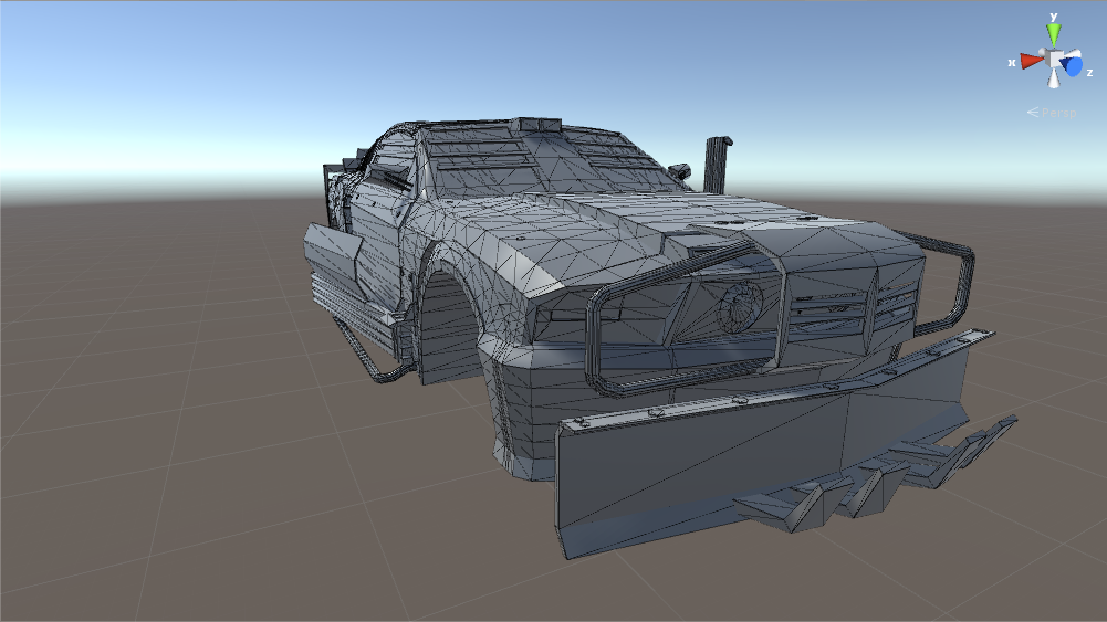 (WIP) Post Apocalyptic Car