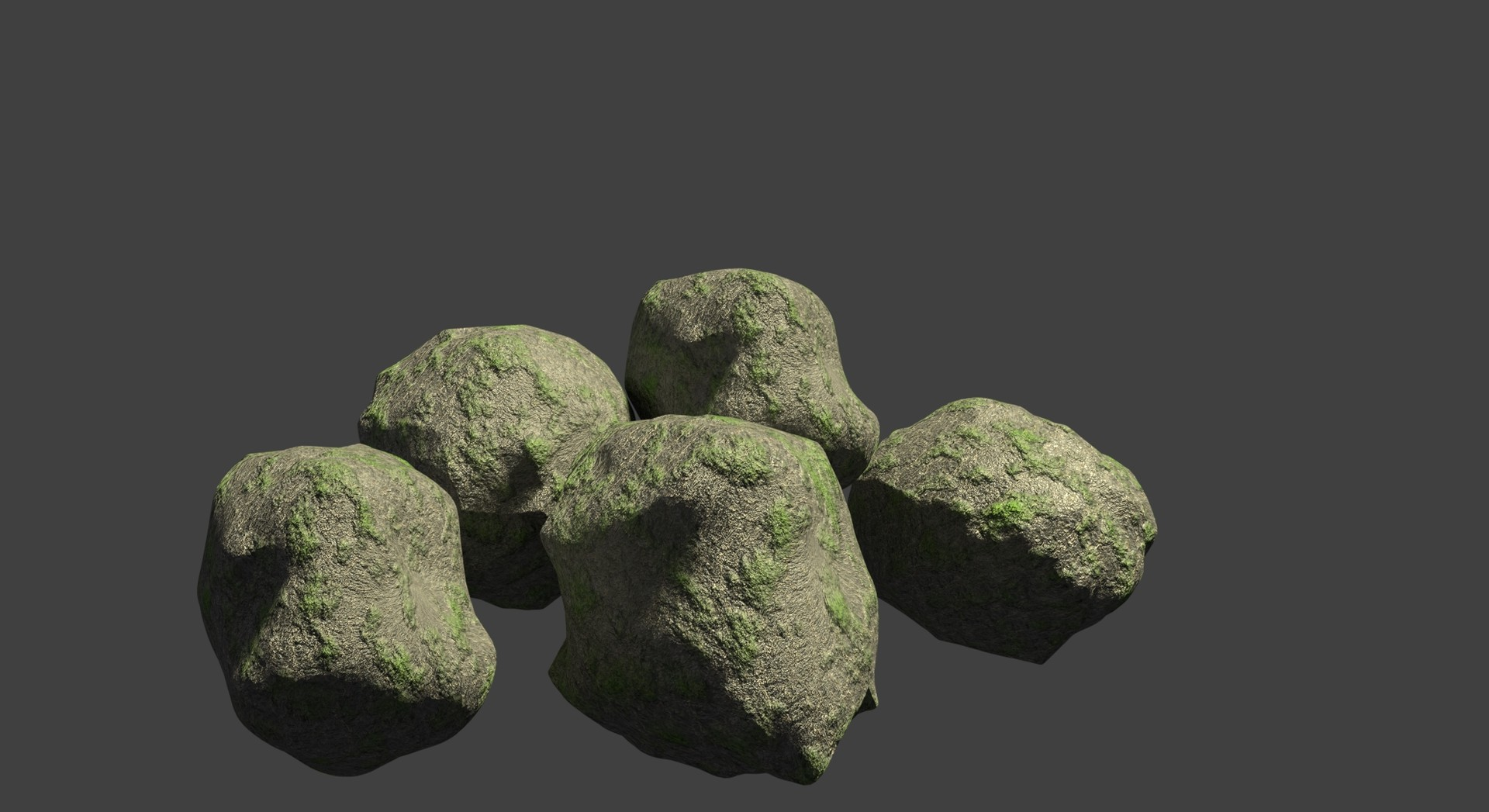 3D Mountain Rocks