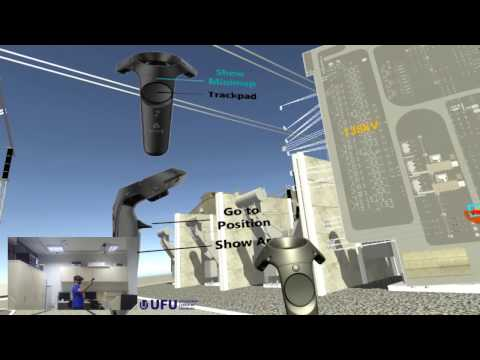 Navigation in Virtual Reality Environments of Electric Power Substations