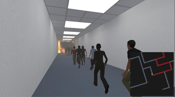VR Evacuation Study