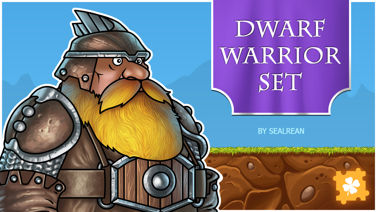 Dwarf Warrior Set