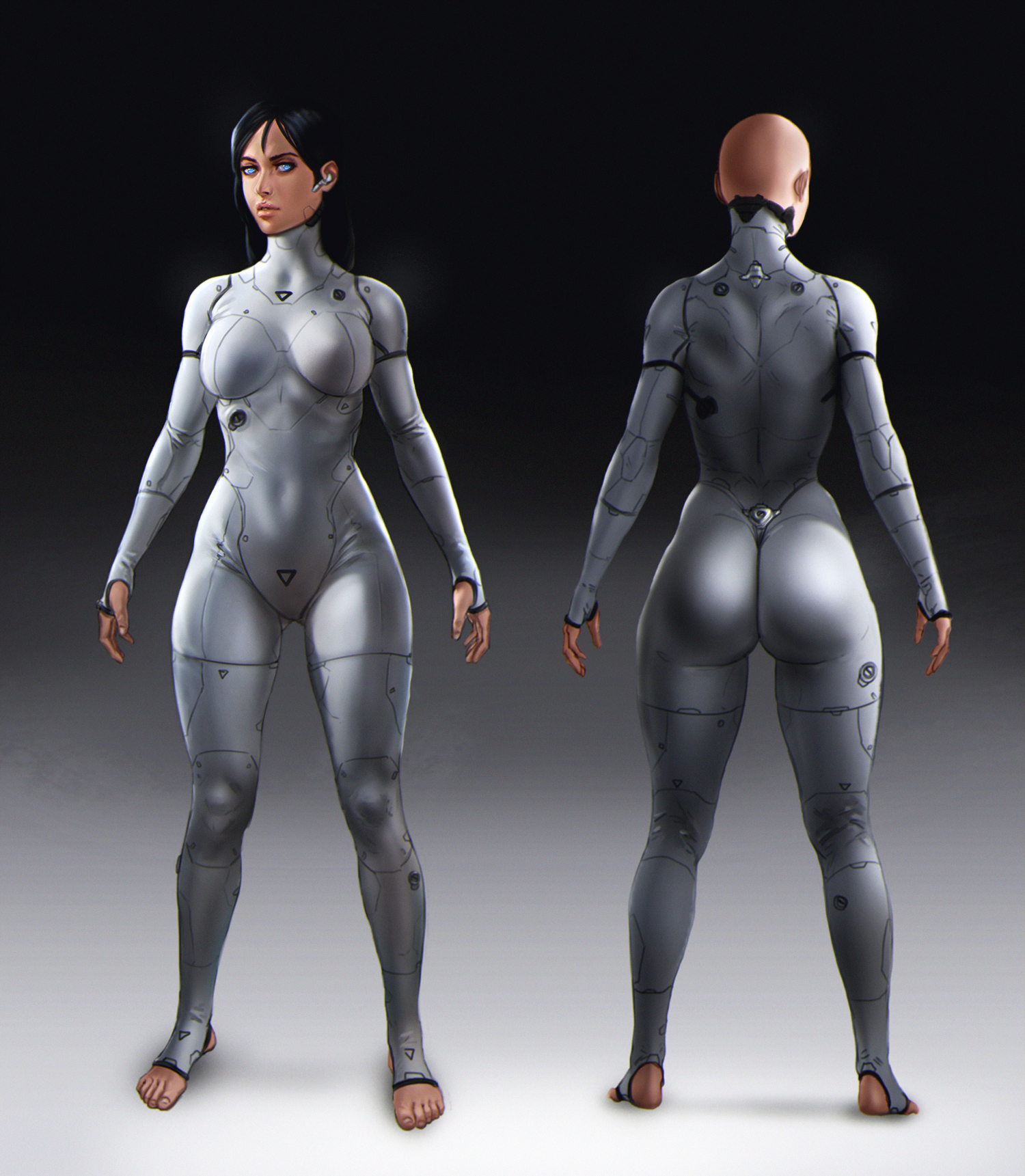 Character/Suit Design